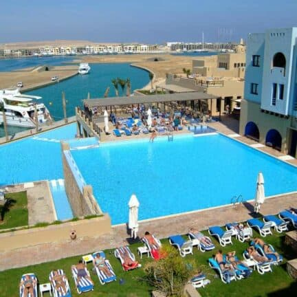 Marina Lodge in Marsa Alam, Rode Zee, Egypte