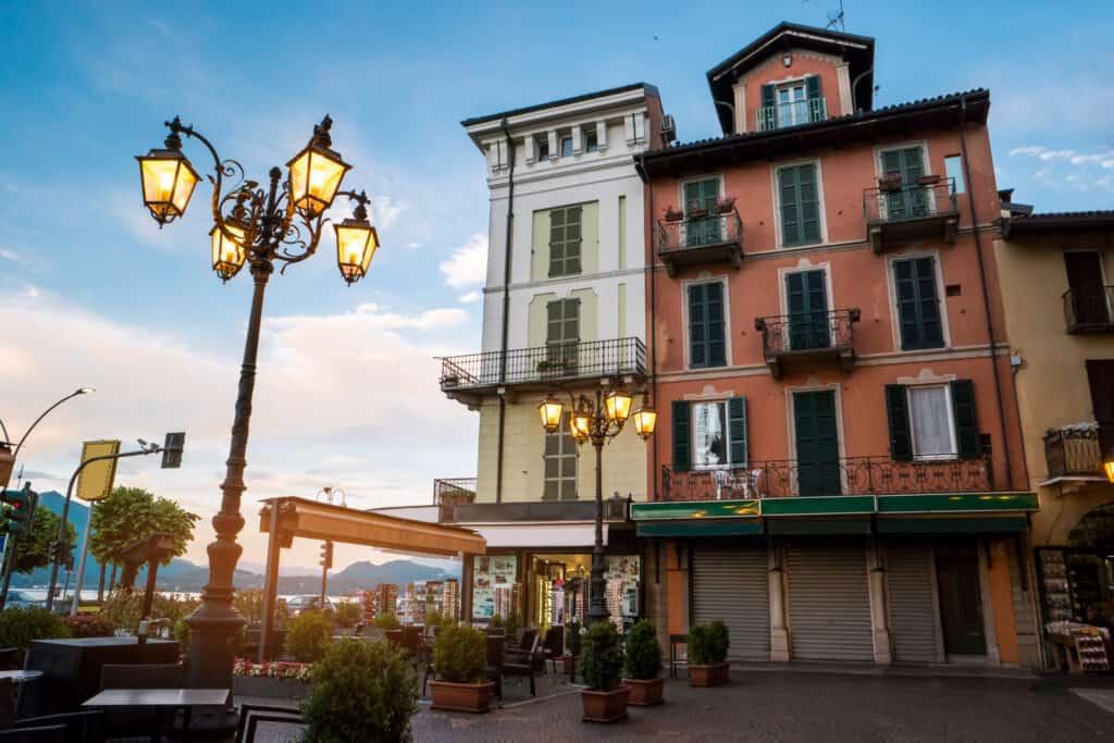 Stresa aan het Lago Maggiore