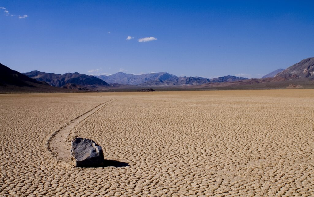Racetrack Playa in Death Valley National Park