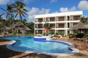 Reef & Beach Resort in Paje, Zanzibar, Tanzania