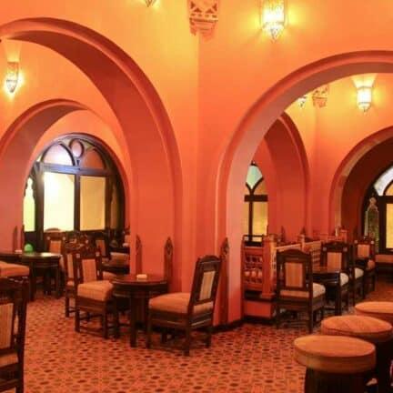 Restaurant van Arabella Azur Resort in Hurghada, Rode Zee, Egypte