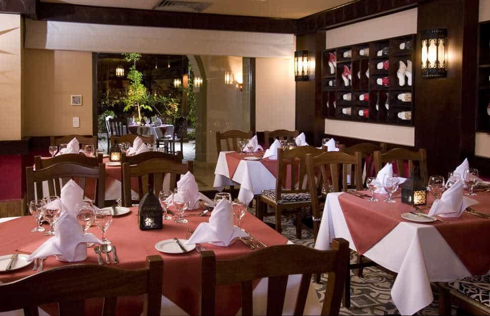 Restaurant van Jaz Dar El Madina in Marsa Alam, Rode Zee, Egypte