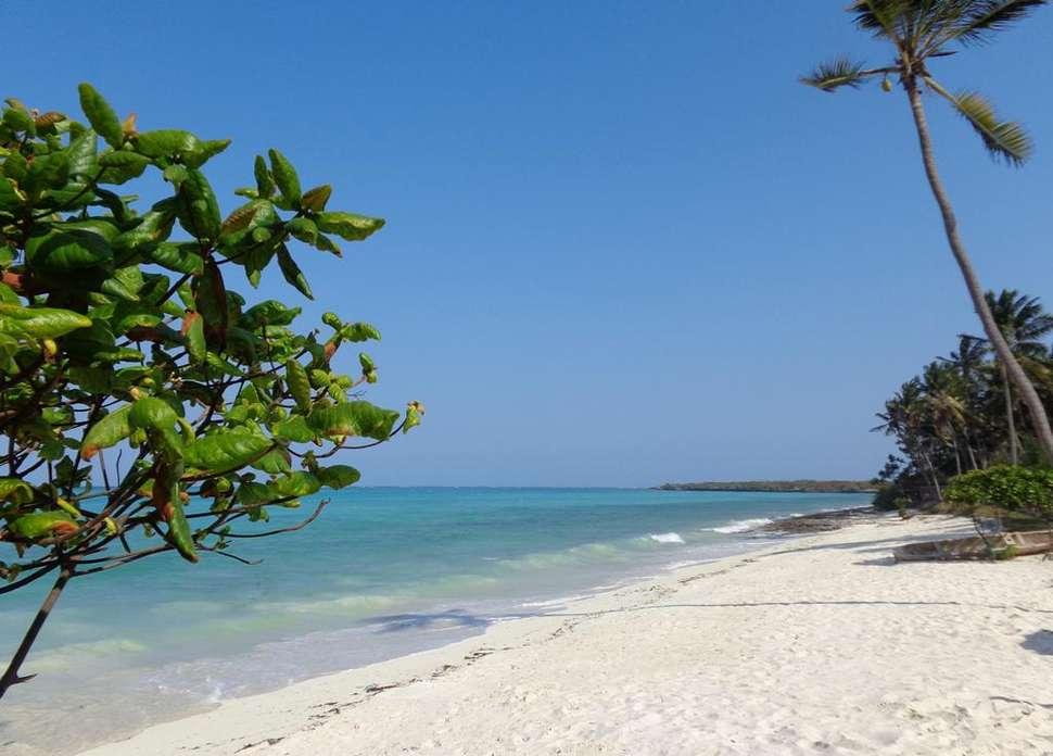 Strand van Reef & Beach Resort in Paje, Zanzibar, Tanzania