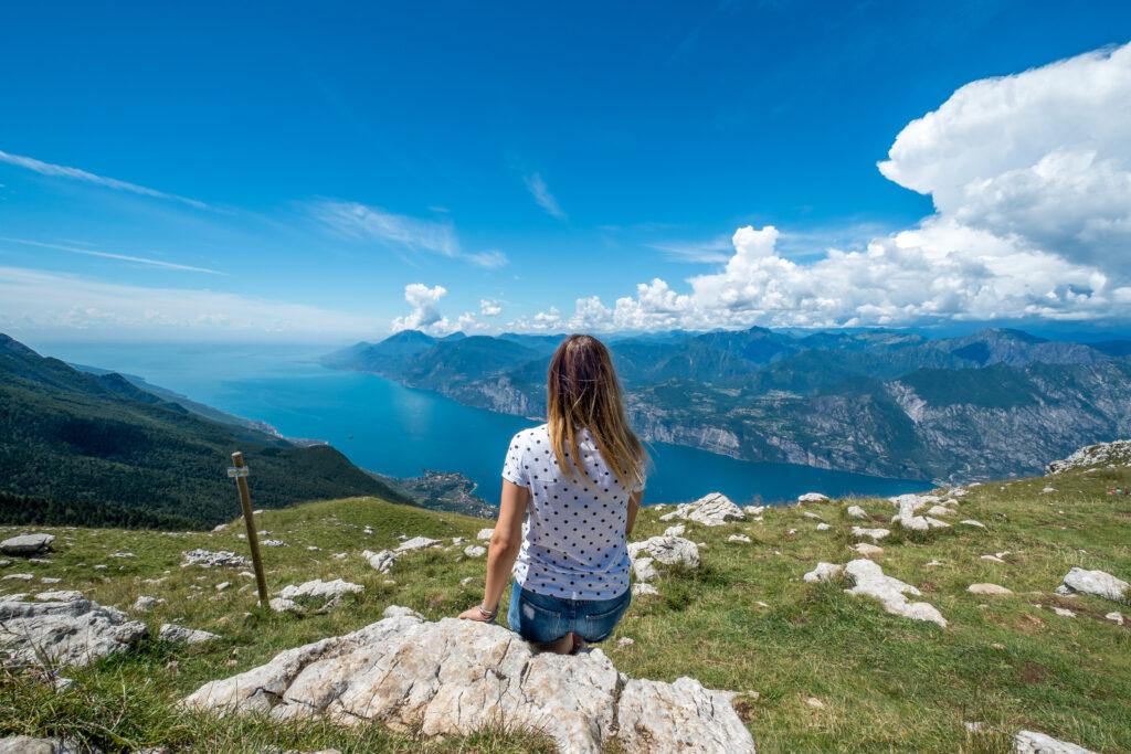 schitterend uitzicht over Monte Baldo