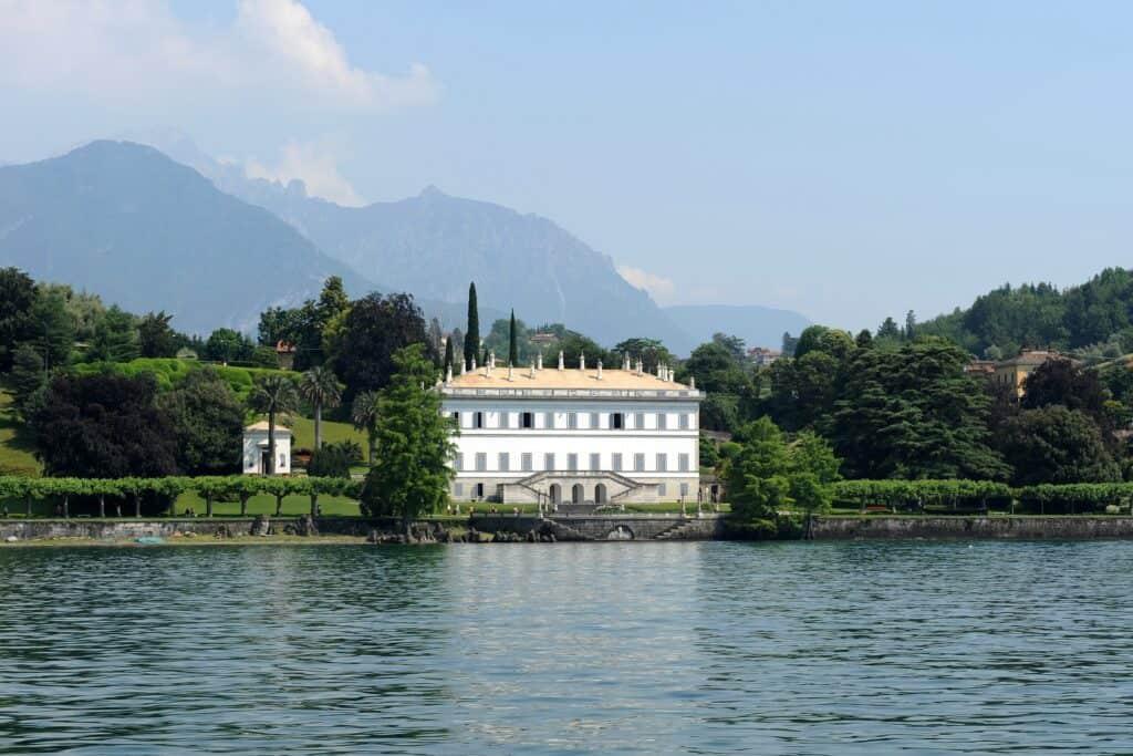 Villa Melzi aan het Comomeer