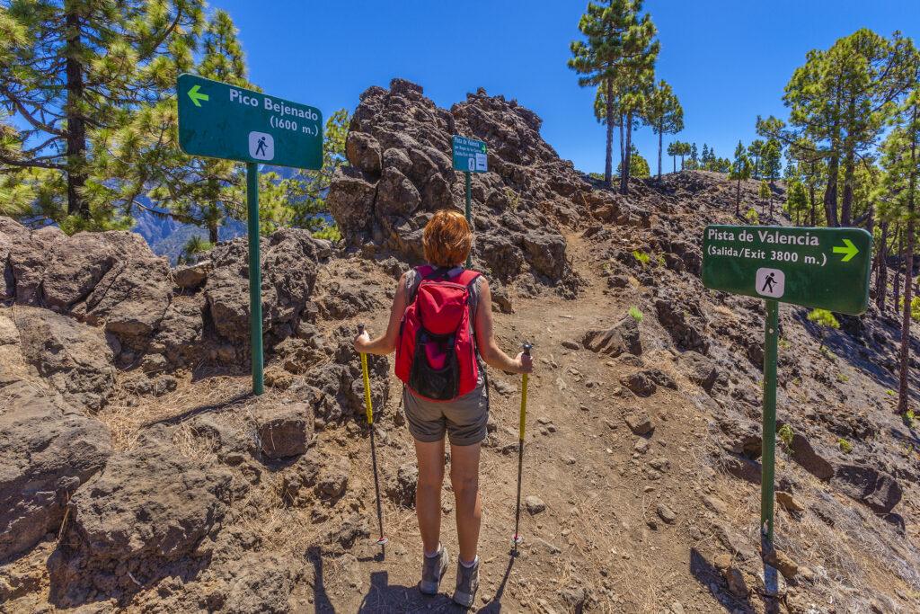 Wandelen op La Palma in Spanje