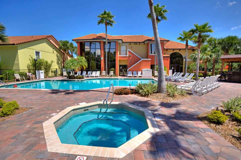 Zwembad van Legacy Vacation Resort in Orlando, Florida, Verenigde Staten