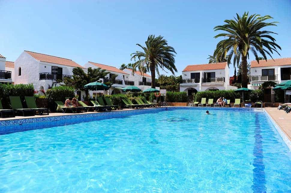 Zwembad van Parquemar in Playa del Inglés, Gran Canaria, Spanje