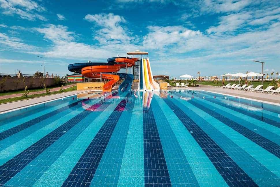 Zwembad van TUI Magic Life Jacaranda in Side, Turkse Rivièra, Turkije