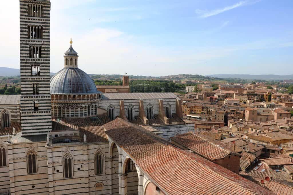 Uitzicht vanuit Museo dell opera metropolitana