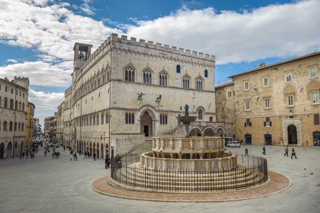 Plein in Perugia, Umbrië