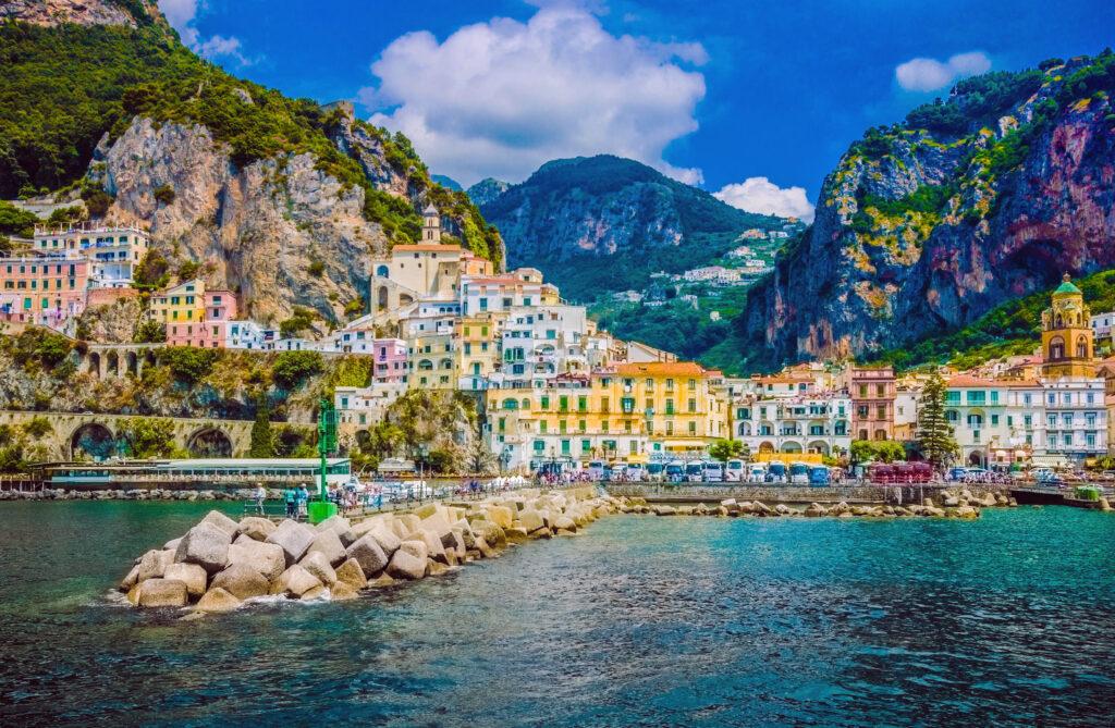 Amalfi in Italië