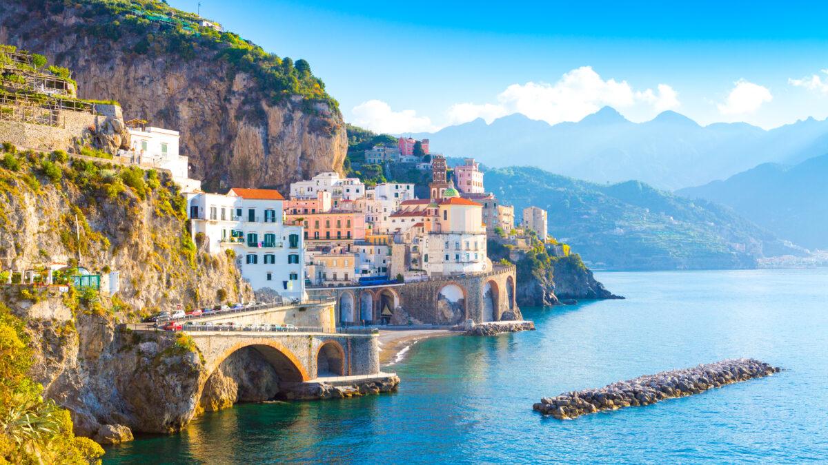Amalfikust in Italië