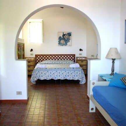 Appartement van Residence Terra Rossa in Taormina, Sicilië, Italië