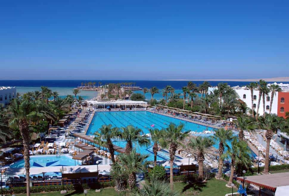 Arabia Azur Beach Resort in Hurghada, Rode Zee, Egypte