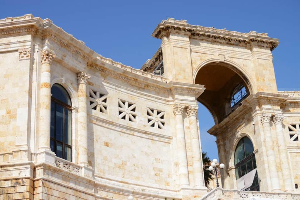 Bastione di San Remy in Cagliari