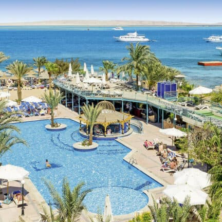 Bella Vista Hurghada in Hurghada, Rode Zee, Egypte