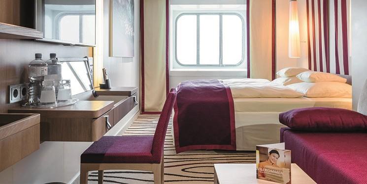 Buitenhut van Cruiseschip AIDAperla