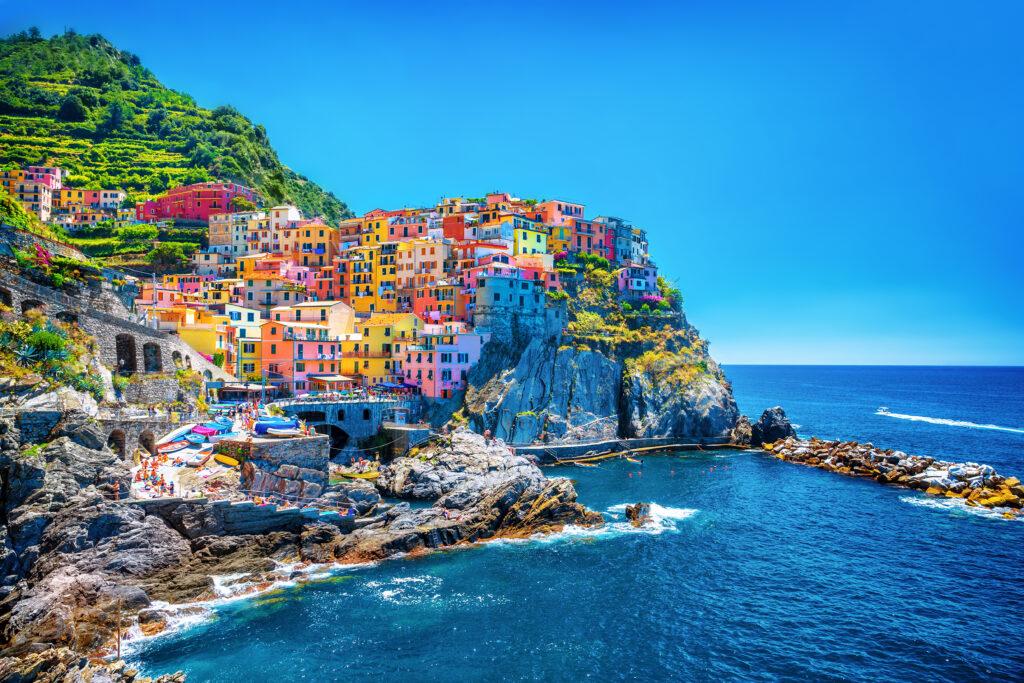 Cinque terre in Ligurië, Italië