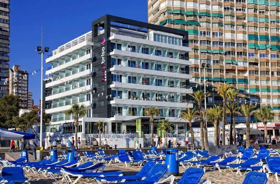 Hotel Brisa in Benidorm, Costa Blanca, Spanje
