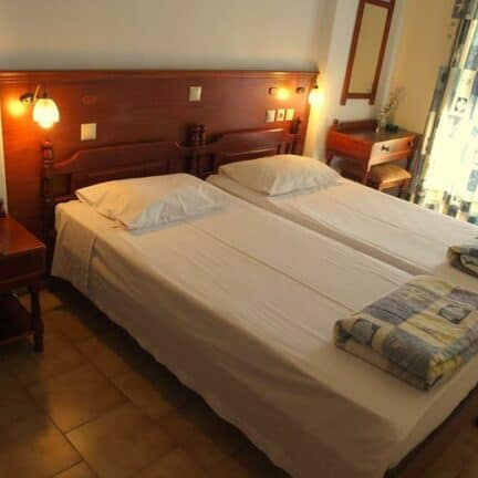 Hotelkamer van Blue Bay in Karpathos-Stad, Karpathos, Griekenland