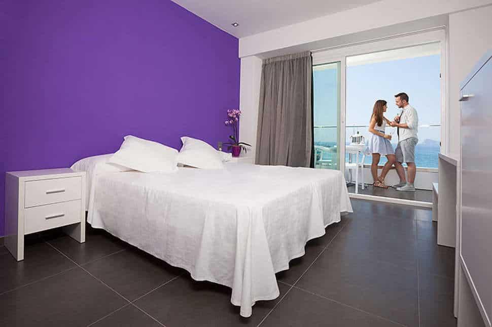Hotelkamer van Hotel Brisa in Benidorm, Costa Blanca, Spanje