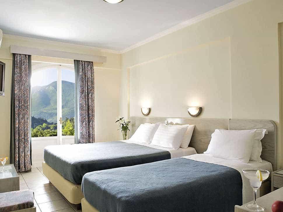 Hotelkamer van Lefko Hotel & Apartments in Nidri, Lefkas, Griekenland