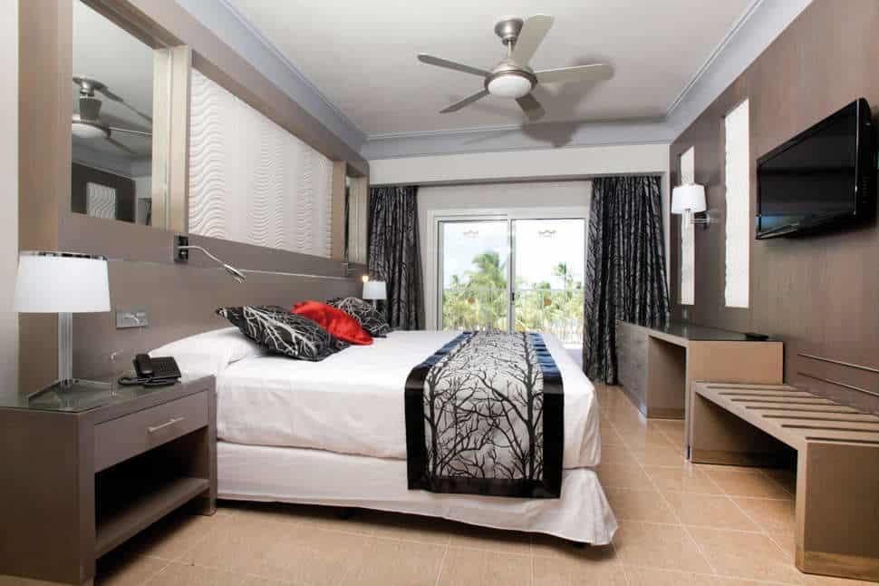 Hotelkamer van RIU Palace Macao in Punta Cana, San Juan, Dominicaanse Republiek
