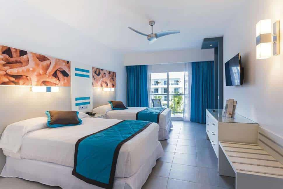 Hotelkamer van Riu Republica in Punta Cana, San Juan, Dominicaanse Republiek