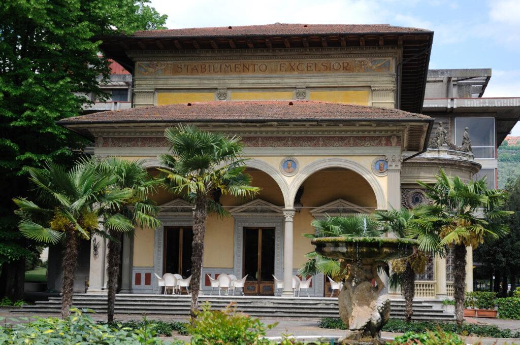 Ingang van Montecatini Terme
