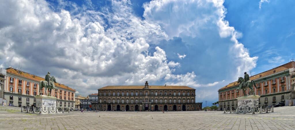 Koninklijk paleis van Napels in Italië