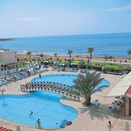 Ligging van Kefalos Beach Tourist Village in Paphos, Paphos, Cyprus