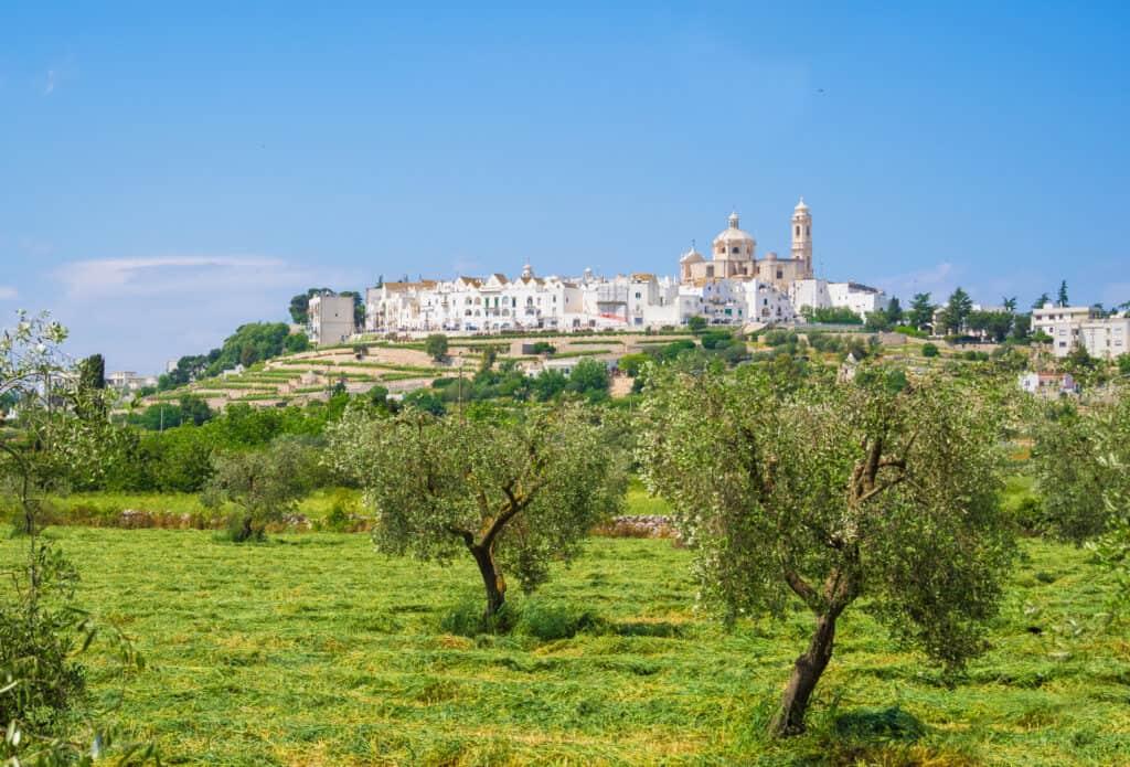 Locorotondo In Puglia, Italië