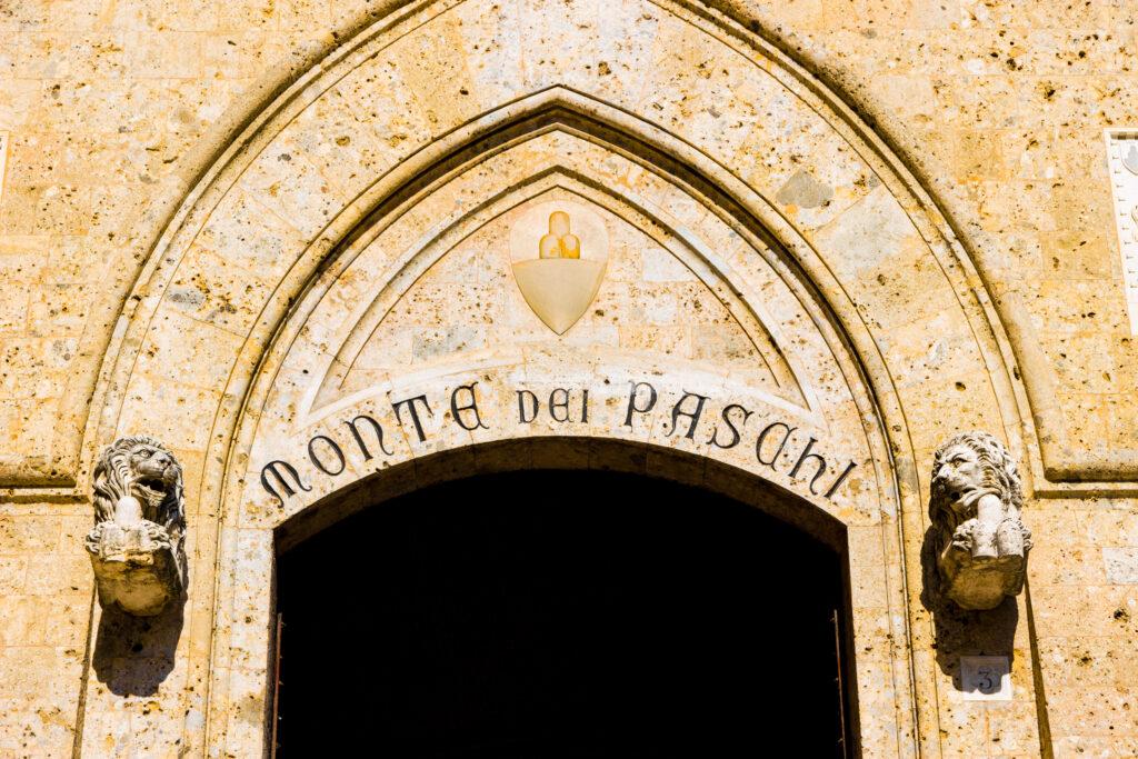 Monte dei paschi di Siena in Toscane