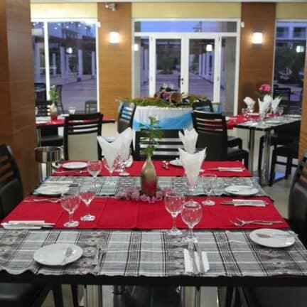 Restaurant van Agua Hotels Sal Vila Verde in Santa Maria, Sal, Kaapverdië