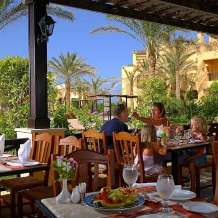 Restaurant van Jaz Lamaya Resort in Marsa Alam, Rode Zee, Egypte