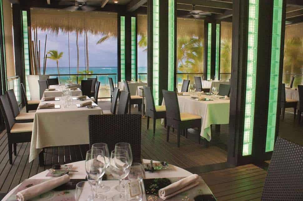 Restaurant van RIU Palace Macao in Punta Cana, San Juan, Dominicaanse Republiek