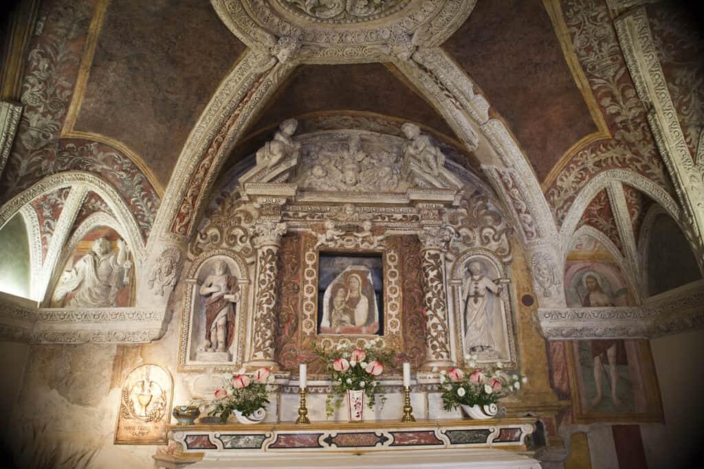 Santa Maria Antica in Verona, Italië