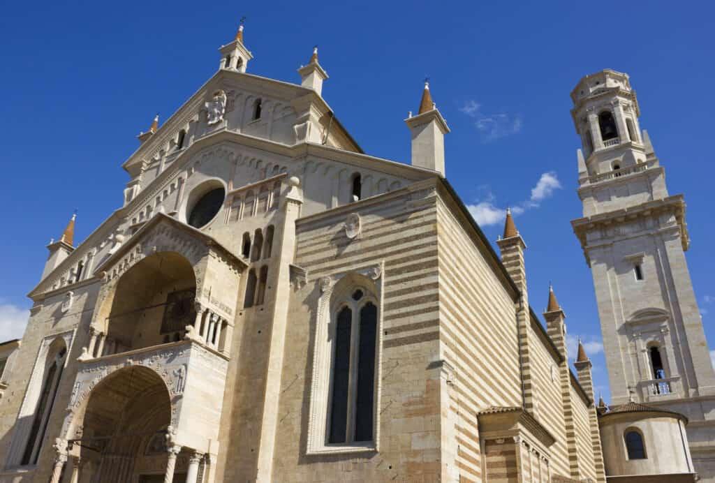 Verona Kathedraal in Verona, Italië