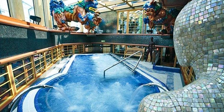 Zwembad van Cruiseschip Costa Pacifica