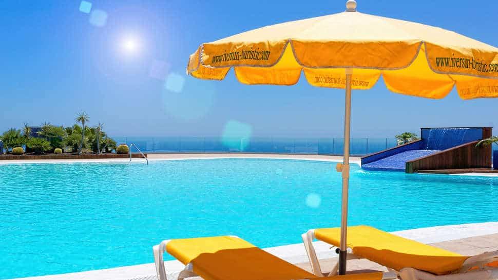Zwembad van Riosol in Puerto Rico, Gran Canaria, Spanje