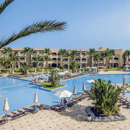 Zwembad van Rixos Sharm el Sheikh in Sharm el Sheikh, Zuid-Sinaï, Egypte