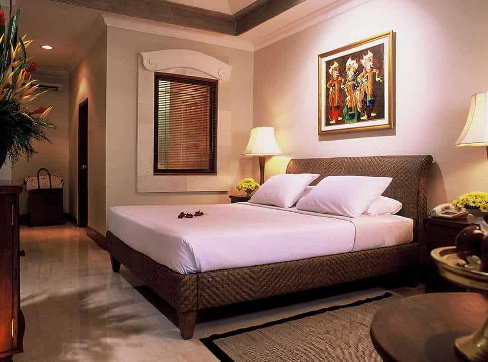 Hotelkamer van Puri Santrian in Sanur, Bali, Indonesië