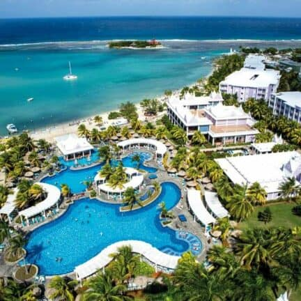 Ligging van RIU Montego Bay in Montego Bay, Saint James, Jamaica