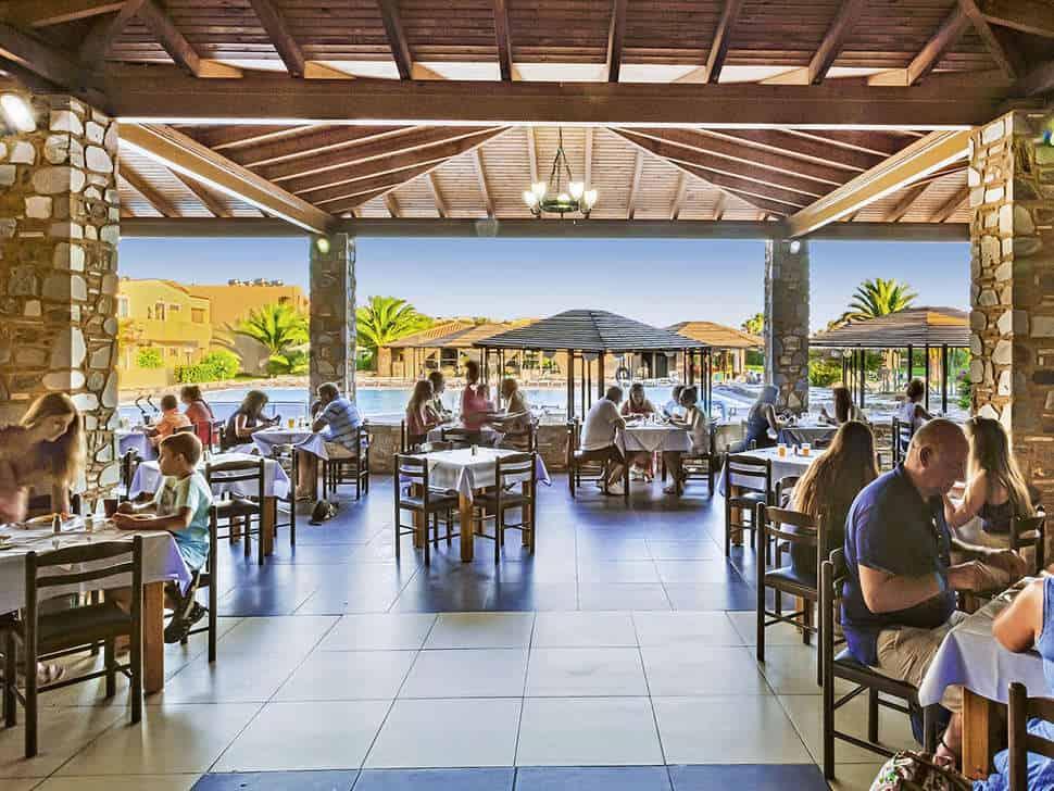 Restaurant van Akti Beach Club in Kardamena, Kos, Griekenland