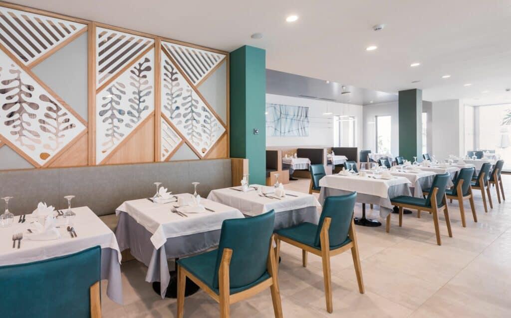 Restaurant van Blue Lagoon Ocean in Kos-Stad, Kos, Griekenland