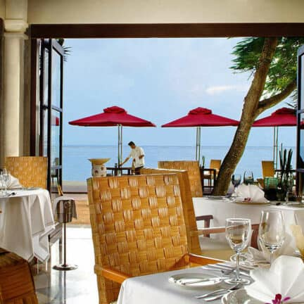 Restaurant van Puri Santrian in Sanur, Bali, Indonesië