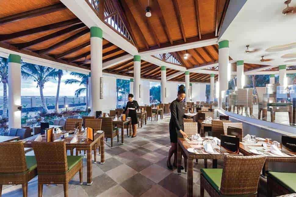 Restaurant van Riu Palace Cabo Verde in Santa Maria, Sal, Kaapverdië