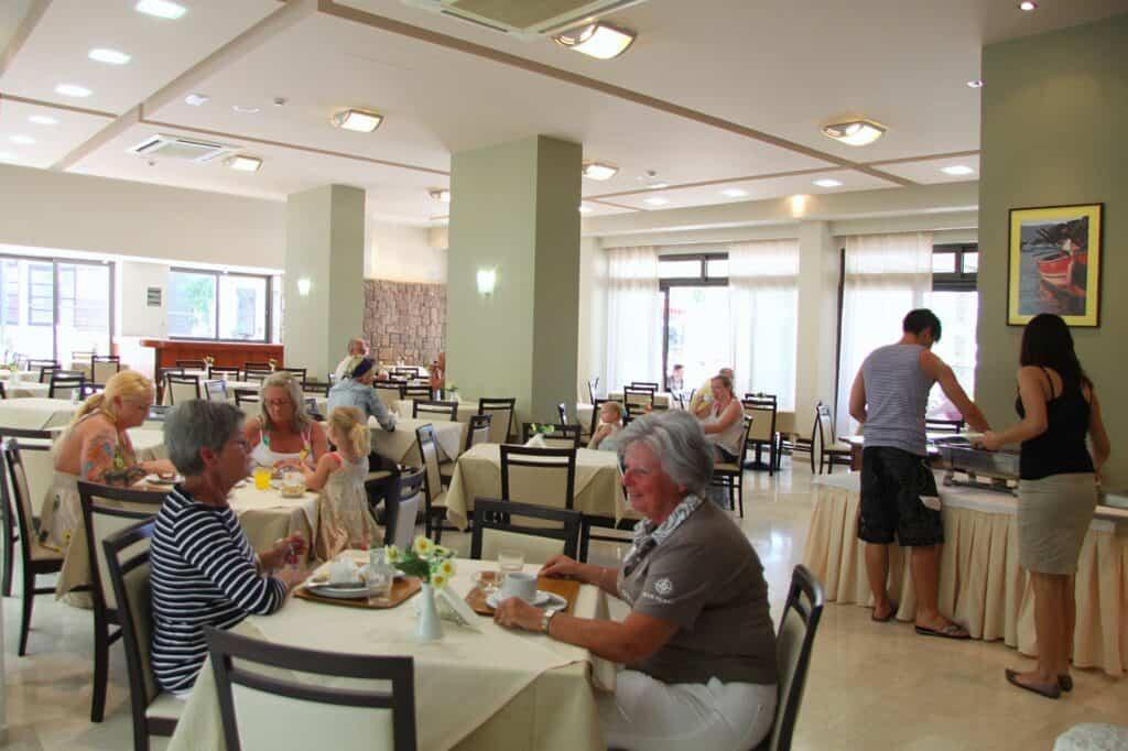 Restaurant van Saint Constantin in Kos-Stad, Kos, Griekenland