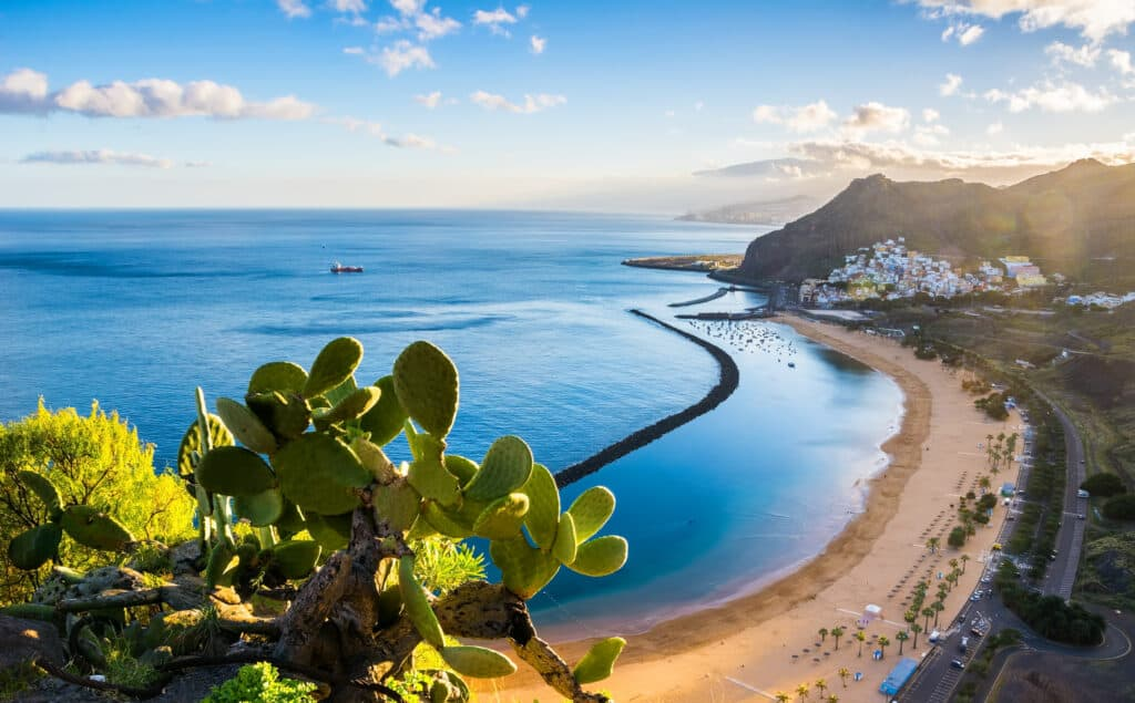Las Teresitas in Santa Cruz de Tenerife